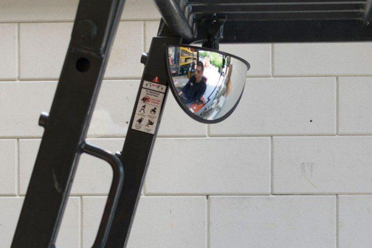 Heftruck spiegel