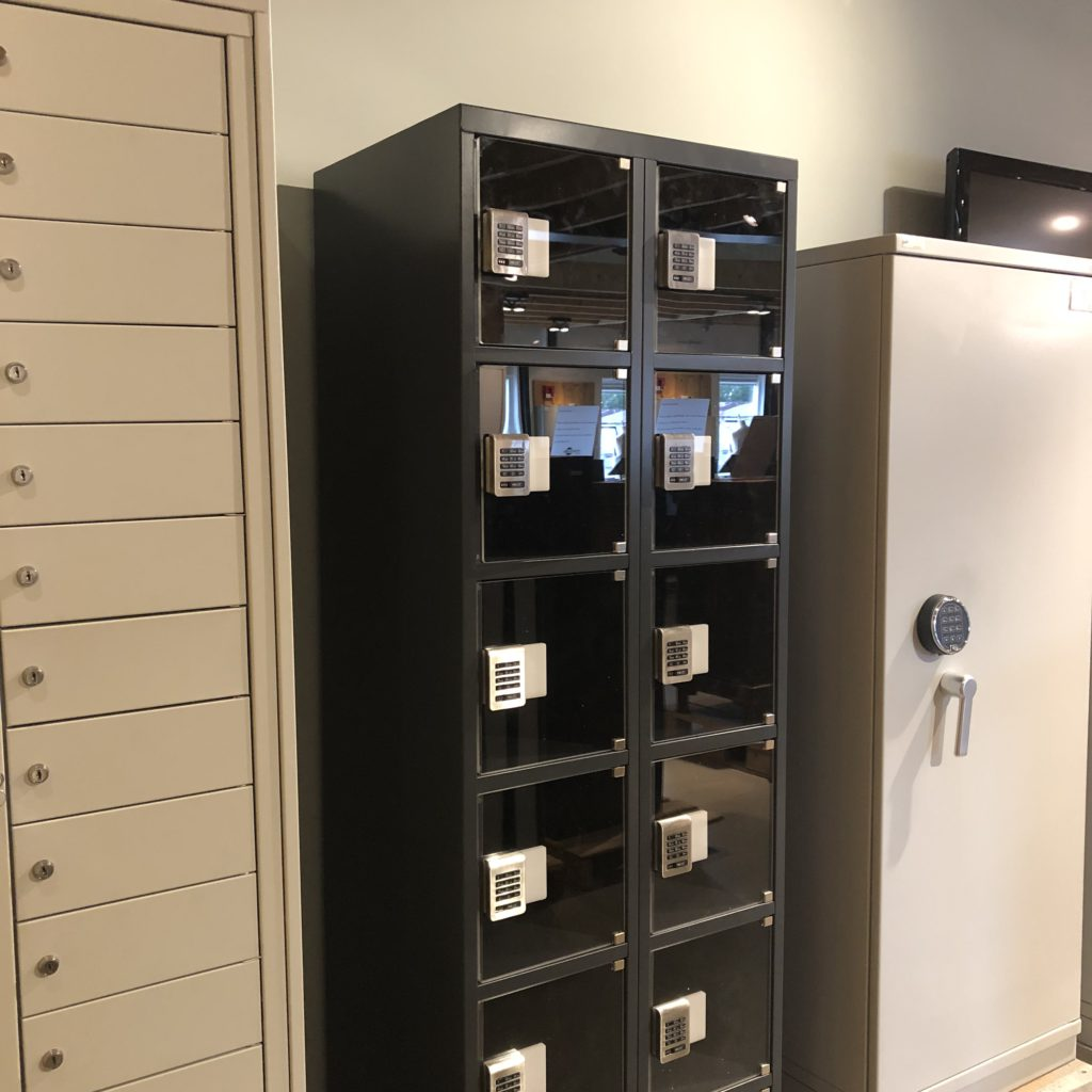 Transparante locker